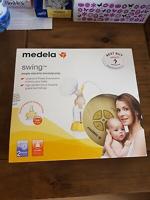 medela swing electric breast pump used once