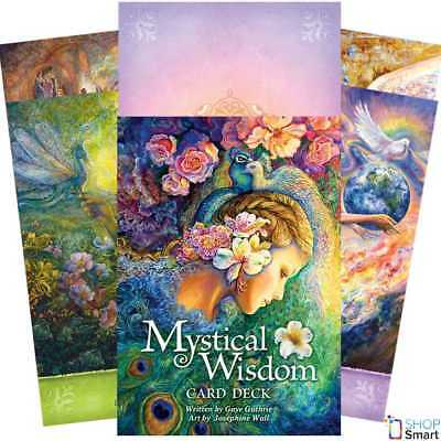 Mystical Wisdom Cards Deck Gaye Guthrie Esoteric Telling Us Games Systems New