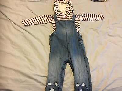 Next Short Dungrees Boys 18-24 Months
