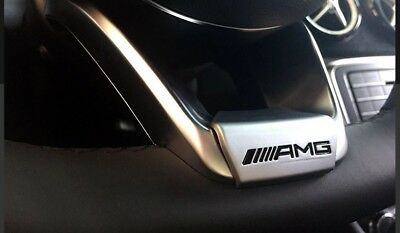 Mercedes AMG C E Class Steering Wheel Sport Sticker Emblem AMG