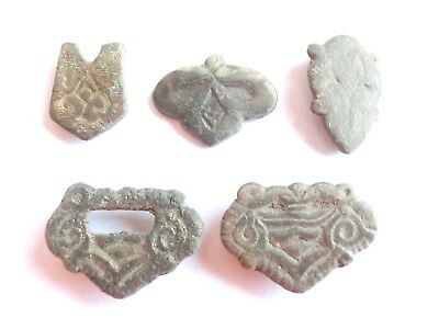 Druid Symbols Appliques Ancient CELTIC Bronze Belt Decorations > La Tene Culture