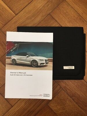 audi a3 convertible owners manual