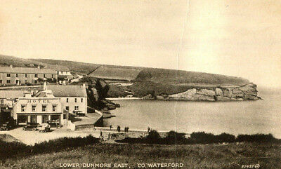 1920s postcard The Hotel Lower Dunmore East Co Waterford