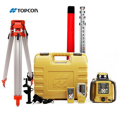 Topcon RL-SV2S Rechargeable Battery Dual Grade Laser Level with LS-80L Receiver