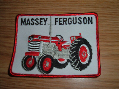 Vintage Massey Ferguson Tractor Embroidered Patch