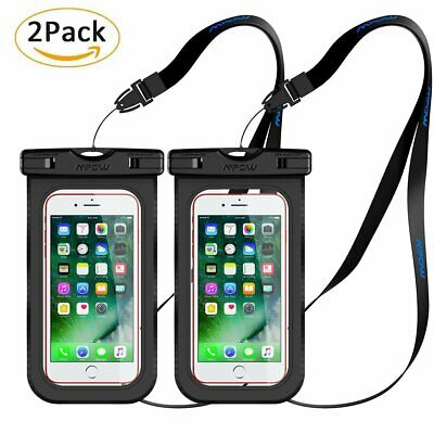 MPOW Waterproof Underwater Pouch Dry Bag Case Cover For iPhone 7 8 X Cell Phone