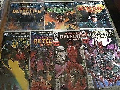 DC Rebirth Detective Comics #965-971 1st Prints