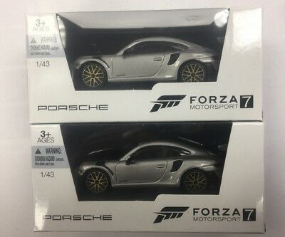 PORSCHE Forza Motorsport 7 Model Car 1:43 scale NEW!! Microsoft Xbox