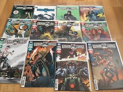 DC Gotham City Garage #1-12 1st Prints