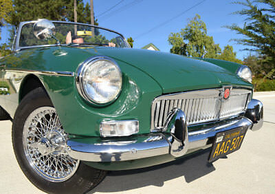 1964 MG MGB Roadster 1964 MGB MKI Roadster Fully Restored California Black Plate Car