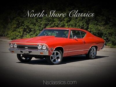 Chevelle -NEW HUGGER ORANGE PAINT-RUST FREE ALABAMA MUSCLE 1968 Chevrolet Chevelle, Hugger Orange with 0 Miles available now!