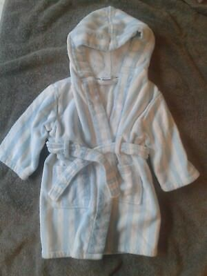 very cute John Lewis Baby belted towelling dressing gown 12-18 months