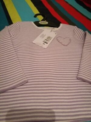 Marks And Spencer Girls Long Sleeve Top Age 12/18 Months  Nwts