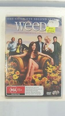 Weeds : Season 2 [2 DVD Set] NEW & SEALED, Region 4, FREE Next Day Post