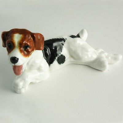 "FINE ENGLISH Royal Doulton Jack Russell Terrier ""PANTING"" H.N. 1101 — RETIRED"