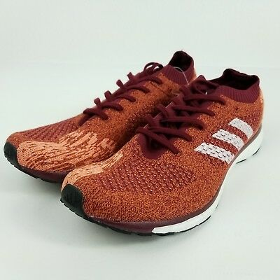 new product d0270 8d119 Adidas Adizero Primeknit Boost LTD Mens 11.5 Shoes Burgundy Ultra RARE  AQ4518