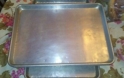 "(1) Commercial 13"" x 18"" 1/2 Size Aluminum Sheet/Pan Bakery/Restaurant Pastry"