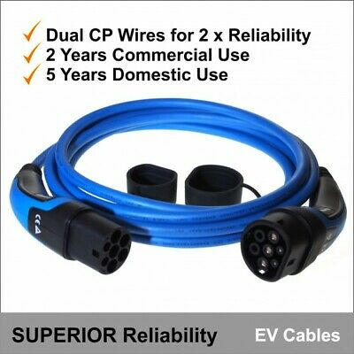 EV Charging Cable Premium EURO Series MENNEKES Type 2 to Type 2 32 Amps