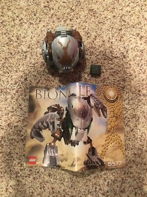 LEGO BIONICLE Bohrok Kal Pahrak Kal (8577) complete with canister NO ...