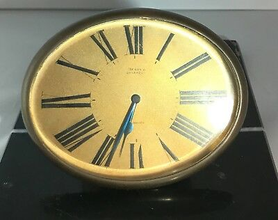 Antique Brass French Clock In working condition