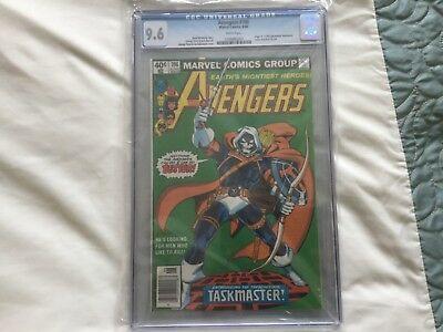 AVENGERS #196 CGC 9.6 WHITE PAGES first taskmaster