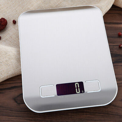 5000g/1g Digital Scale Kitchen Stainless Steel Electronic Weight Measure Tools