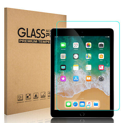 Premium Tempered Glass Screen Protector For iPad 9.7'' 2018 6th Gen/2017 5th Gen