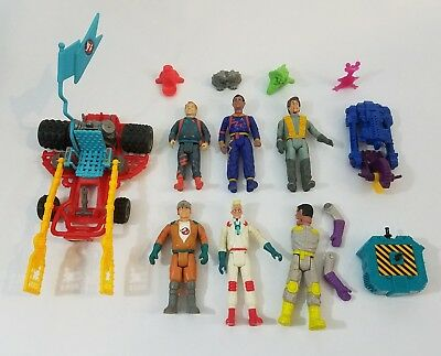 Vintage Ghostbusters Action Figures/Vehicle Lot