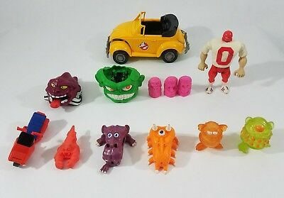 Vintage Ghostbusters Villians Figures Monsters Ghosts Vehicle Accessories Lot