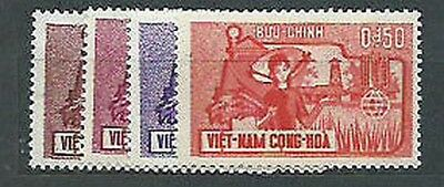 Viet nam South - Mail Yvert 210/3 Mnh