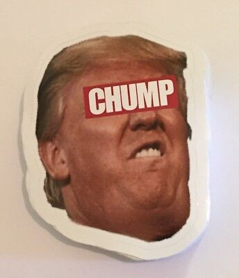 Donald Trump Republican Decal Sticker Bumper anti Donald Funny FREE SHIPPING