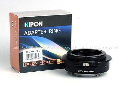 Kipon Tilt & Shift adapter for OM mount lens to Sony Nex-7/6/5R a7 a7r latest