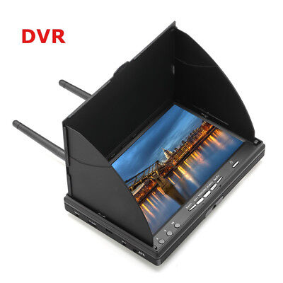 LS-5802D 5.8G FPV DVR 7 inch Handheld Screen For RC Model Racer Drone Quadcopter