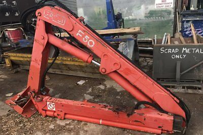 Fassi Hiab Crane F50 With Swivel Base Frame