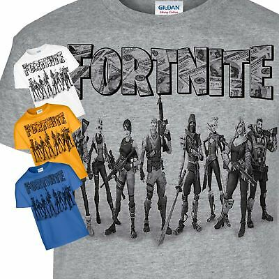 Fortnite Fancy Dress Gamer Kids PS4 Xbox One Pc Gamiing Children Top T-Shirt