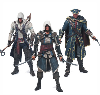 Assassin's Creed KENWAY CONNOR Figur Anime Modell Sammeln Manga Action Spielzeug