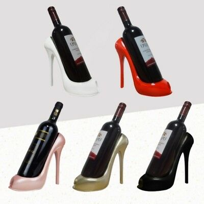 High Heel Shoe Wine Bottle Holder Stylish Wine Rack Basket Accessories Decor