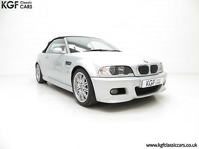 A Desirable Facelift BMW E46 M3 Convertible with 67,585 Miles