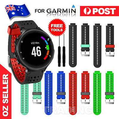 Replacement Wrist Band Strap for Garmin Forerunner 220/230/235/620/630/735 Watch