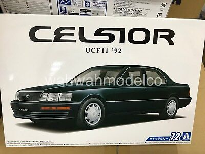 Aoshima 55519 Model Car 72 Toyota UCF11 Celsior 4.0C Type F Package 1/24 scale