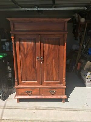 Large Timber Cabinet / Armoire