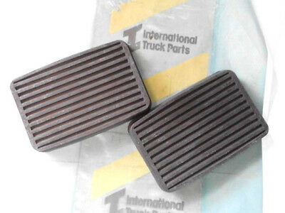 International AA-AB-C & D Line truck-ute NEW Clutch & Brake pedal rubber pads