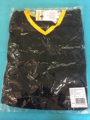 Herren Polo Shirt Gr. M - Deutsche Post - Neu in  OVP - Funktionsgewebe