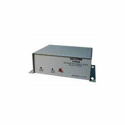 Valcom V-2000A One-Way, 1 Zone, Page Control With Built-In Power Provides A B...