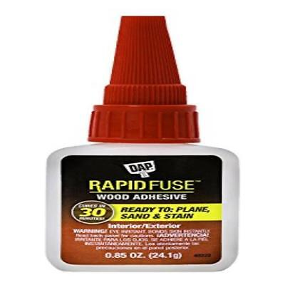 Adhesives, Sealants & Tapes Dap 00156 0.85 Oz Rapid Fuse Fast Curing Wood Adhesive Liquid Glues & Cements