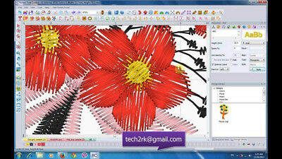 Floriani Total Control U Full version - Embroidery Software