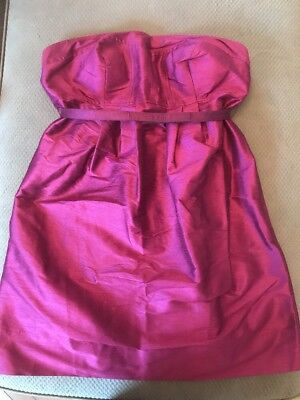 A Pea In The Pod Donna Morgan Maternity Dress New With Tags Strapless Medium