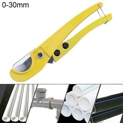 8'' Pipe Cutter Cuts Plastic ABS PVC Pipes Tube Hose Pliers Ratcheting Plumbing