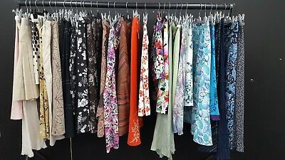 Job Lot Of 30 Summer Ladies Skirts- Various Sizes/colours/brands