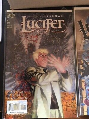 DC Vertigo Lucifer Complete set 1 -75 great condition Rare